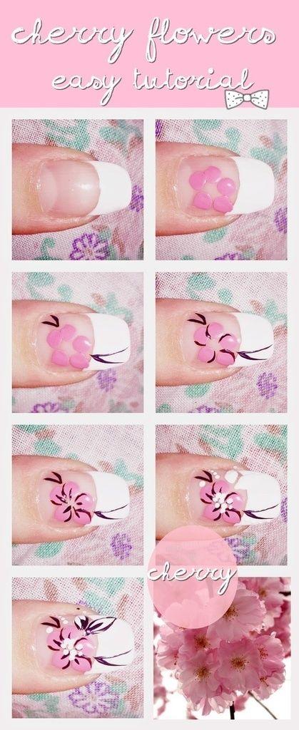Imagem de nails and tutorial