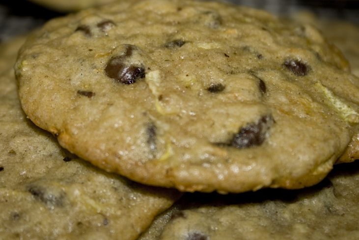 Chocolate Chip Zucchini Cookies. Girl cookies (no nuts), with a cake ...