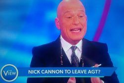 "awesome Howie Mandel ""The View"" Video: ""AGT"" Judge Begs Nick Cannon To Return"
