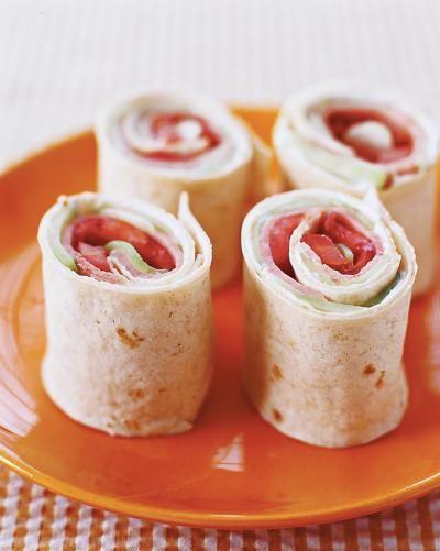 Ham-and-Veggie Pinwheels | Parenting