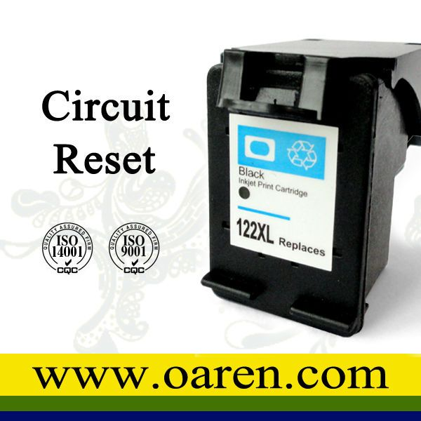 reset circuit compatible HP 122 Ink Cartridge hp 122 XL ink cartridge with High Yield $9.68~$10.32