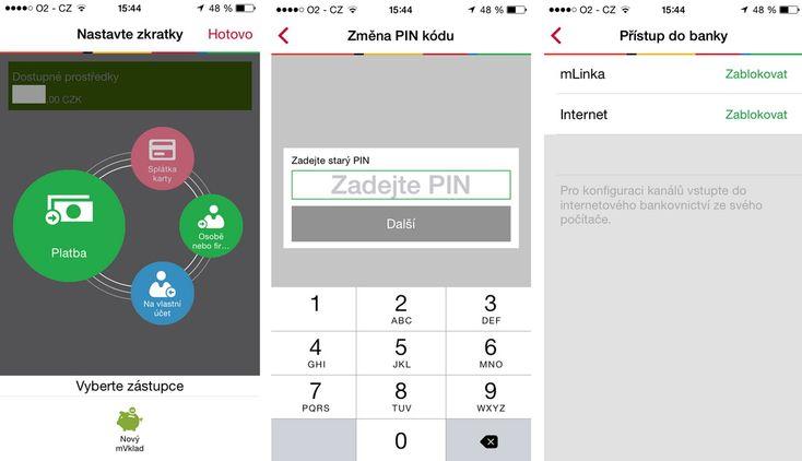Fotogalerie - Představujeme vám mobilní bankovnictví mBank. Moderní design a několik zajímavých vychytávek - Finparáda