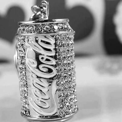 Clean Diamond Ring With Coke