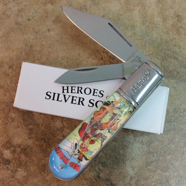 New Novelty Cutlery Quot Red Ryder Quot 2 Blade 3 5 Quot Barlow Pocket