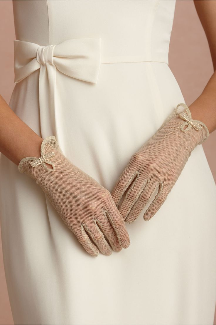 Halcyon Gloves in SHOP Shoes & Accessories Gloves at BHLDN