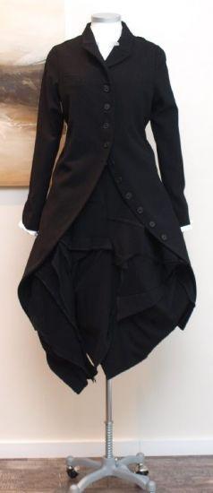 stilecht - mode für frauen mit format... - rundholz - Rock Hose Multitalent schwarz