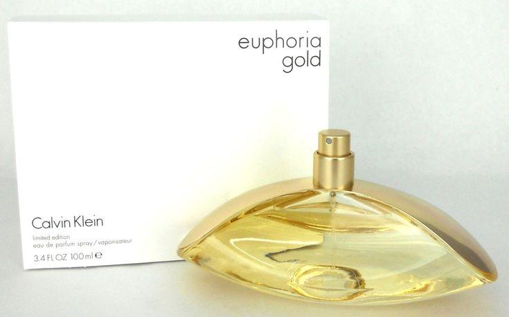 Euphoria Gold by Calvin Klein EDP Spray for Women 3.4 oz/ 100 ml New Tester http://ift.tt/2HMTMyI