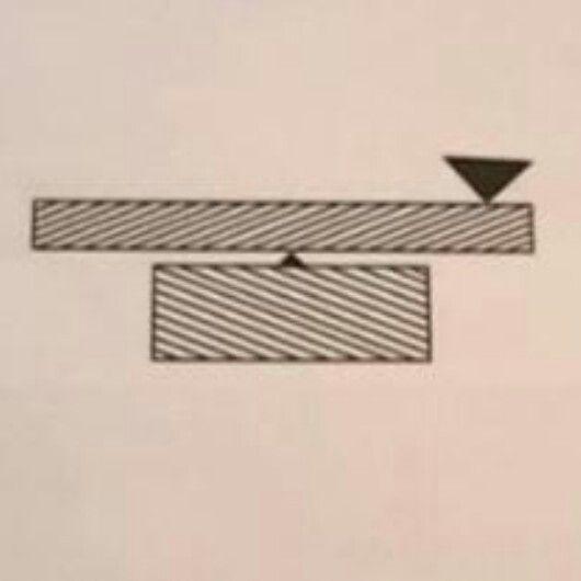 Observa detenidamente la imagen. ¿Esta la barra inclinada hacia la derecha? #ClínicadeEspecialidadesOftalmológicas