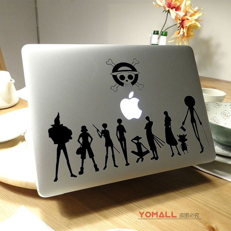 "One Piece Vinyl Laptop Sticker for Apple Macbook Air Pro Retina 11"" 13"" 15"" 12"" Notebook Decal Mac //Price: $22.00 & FREE Shipping //     #onepiecelover #onepieceatatime #dluffystore"