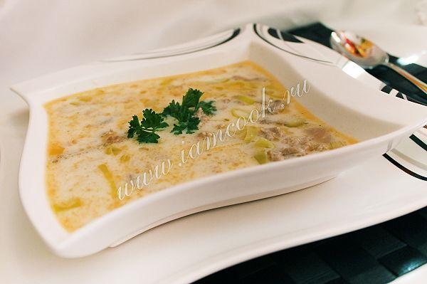 Немецкий сырный суп «Käsesuppe», рецепт с фото.