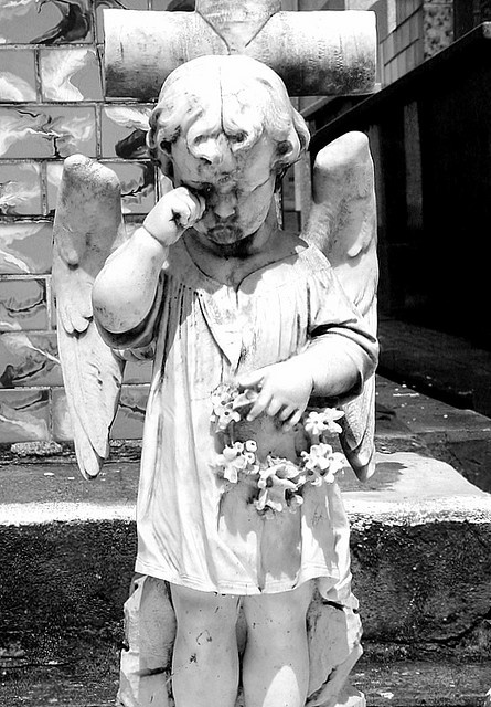 angel don't weep little one.. you are in the arms of God!