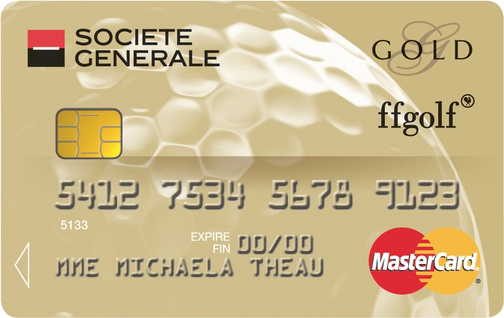 carte gold mastercard societegenerale f d ration fran aise de golf cartes collection sport. Black Bedroom Furniture Sets. Home Design Ideas