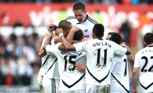 Swansea City defying all expectations to stand as Europa League outsiders - Swansea City are the first ever Welsh side that has grace the Premier League, a side that less than 10 years ago were sitting at the bottom of the football league pyramid. Their opening game at Manchester City's Etihad Stadium did not exactly start well, with the Swans on the wrong end of a 4-0 deficit. But Brendan Rodgers has brought Swansea back from that disappointment to the fringes of European football.