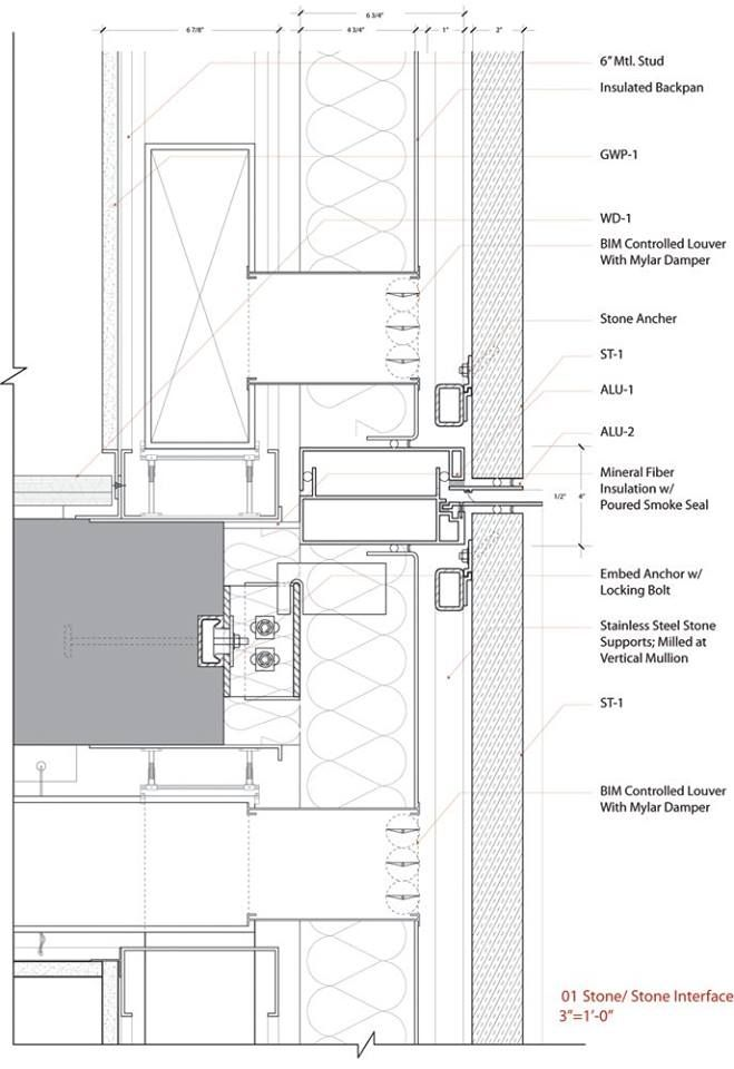 Curtain Wall Installation Details : Images about detail drawing on pinterest renzo