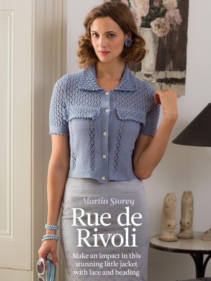 British Crochet Magazines : Rue de Rivoli by Martin Storey (found in The Knitter #57), using Rowan ...