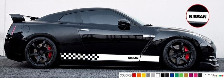 Sticker Decal stripe for Nissan GTR R35 SKYLINE 2007 2008 2009 2010 2011 2012  #ultimateprocy1
