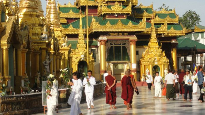 The Shwedagon Pagoda of Yangon - Solo Traveler