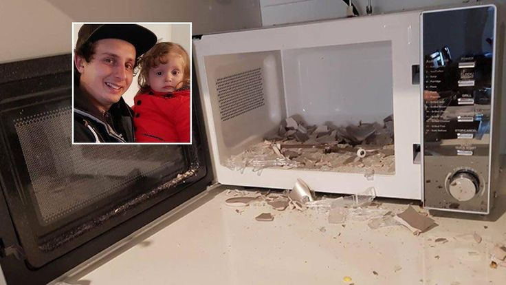 Bathurst dad Mitchell Pritchard tells of his terror after new Aldi microwave explodes near young daughter - The West Australian #757Live