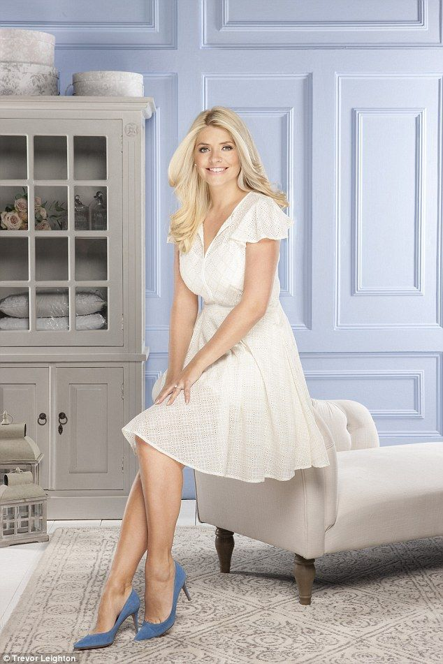 Holly Willoughby, 34, has extended her homeware range with BHS and has now ventured into designing a range of baby clothes inspired by vintage pieces and her own childhood memories