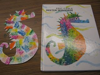 """You can find this book in the Texas State Aquarium Gift Shop! Stop by the Aquarium and pick up a copy, and then try these """"Mister Seahorse"""" crafts with your kids!"""