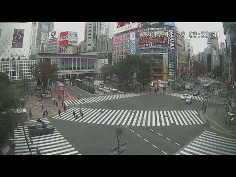 (52) 【LIVE CAMERA】渋谷スクランブル交差点 ライブ映像 Shibuya scramble crossing - YouTube