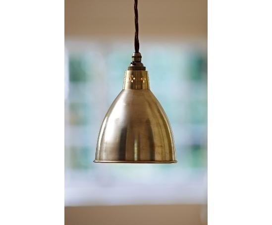 Barbican Pendant (Antiqued Brass) Jim Lawrence