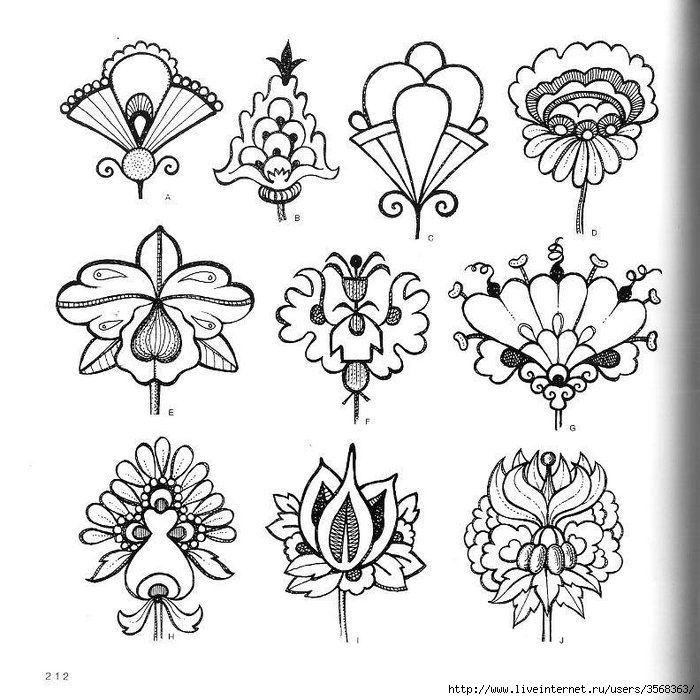 Стилизация цветка картинки