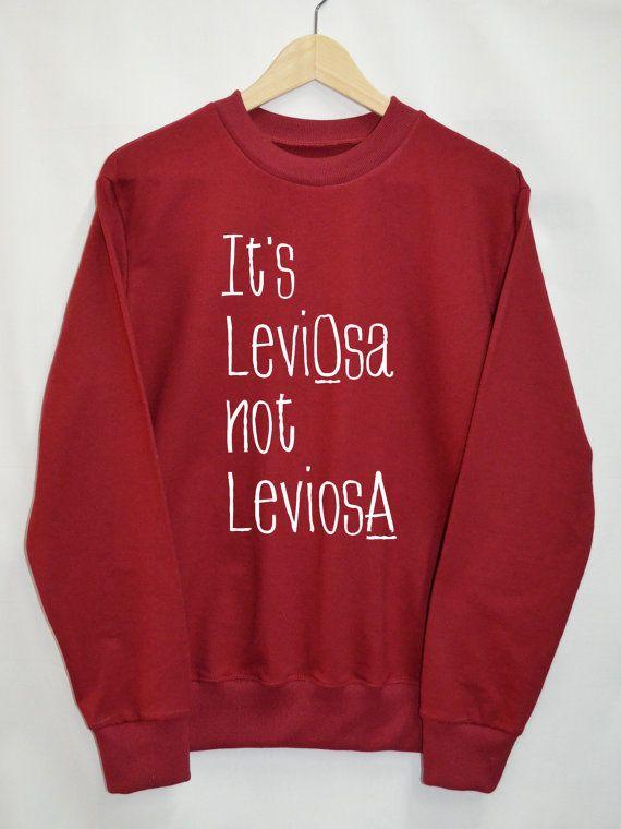 Harry potter kleding LeviOsa niet leviosA shirt door Upicestore
