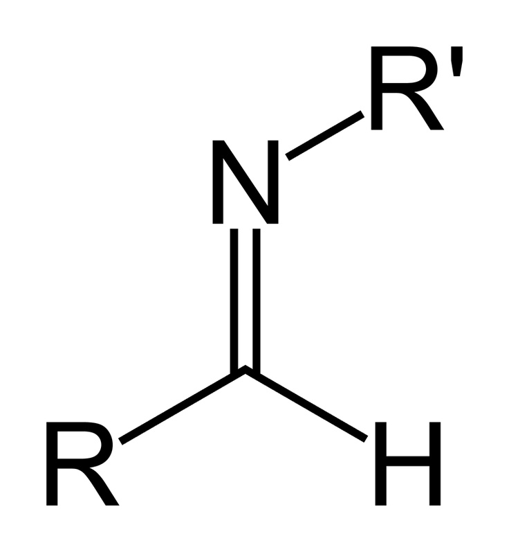 Schiff base - Normally refers to composition of Methyl Anthranilate at equilibrium with an aldehyde.  Schiff bases increase stability of aldehydic components as they are less reactive than their free counterparts.