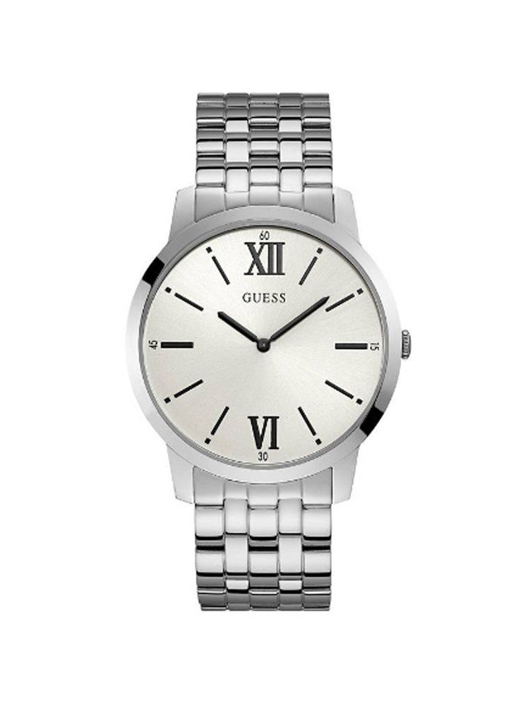 Guess Silver Stainless Steel Watch