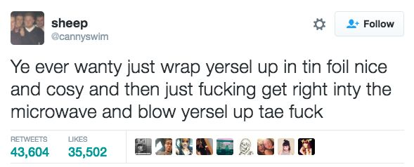 And on 2016 as a whole: | 24 Times Scottish Twitter Made You Shit Yourself Laughing In 2016