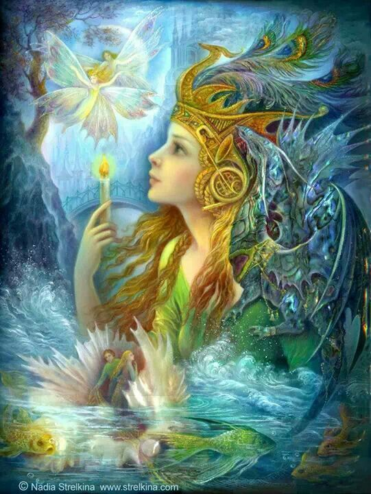 Fairies: Angel, Nadia Strelkina, Надежда Стрелкина, Fairies, Nadezhda Strelkina, Fantasy Art, Fantasyart, Fairy Art