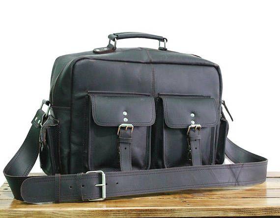 71dccdae2898 16 Vintage Leather Messenger Bag Mens Bag Womens | Vintage Leather bags