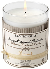 Bougie Biscuit Durance, 14.50 Euros. Smells as delicious as it sounds.