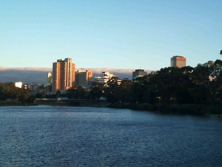 River Torrens in Adelaide, SA