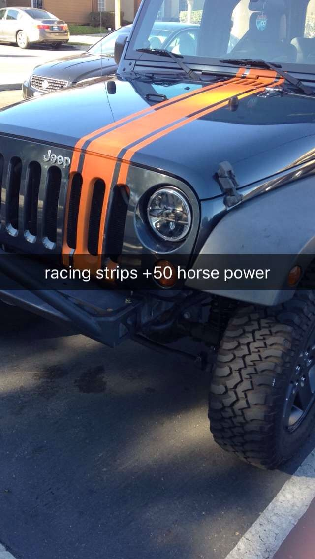 Racing Stripes - Jeep Wrangler Forum