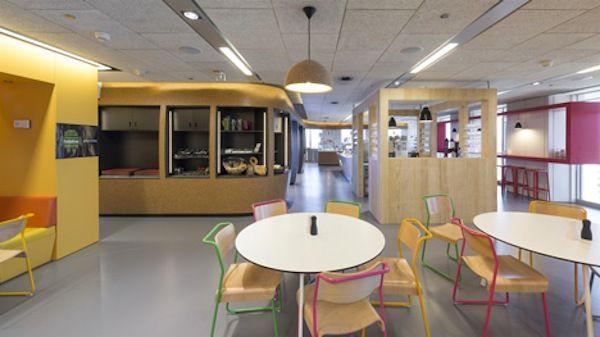 Un petit tour dans les nouveaux locaux de Google à Madrid