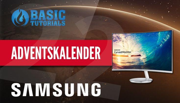 #Adventskalender: Samsung Curved Monitor C27F591FDU LED #Gewinnspiel