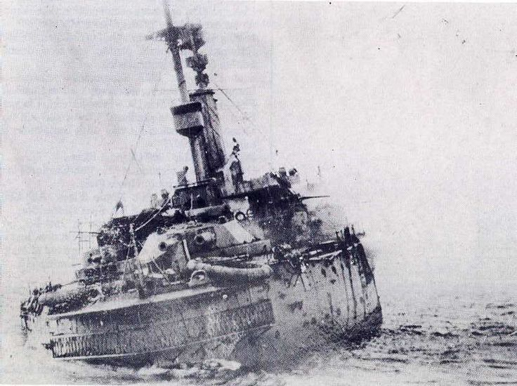 HMS Britannia (1906), On the morning of 9 November 1918, captained by Francis F…