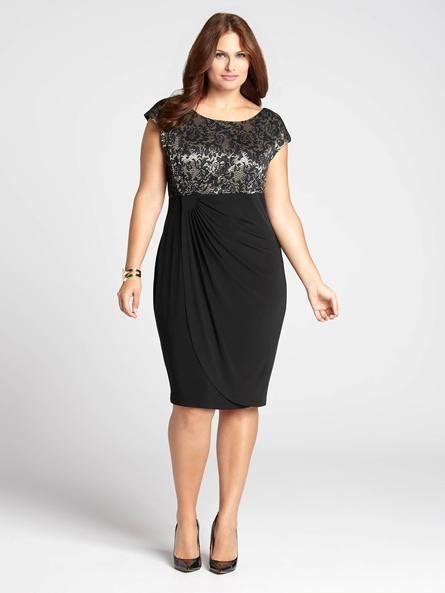 1000  images about Dazzling Plus Size Dresses on Pinterest - Plus ...