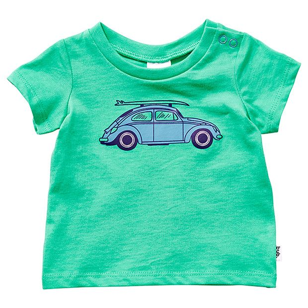 PURCHASED: Short Sleeve Car Print T-Shirt. She's one cool chicky!