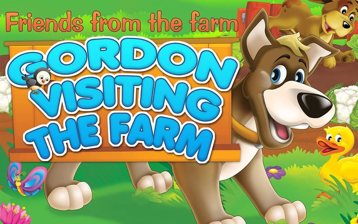 Fairy tale - The Dog - Gordon visiting the farm LECTOR EN