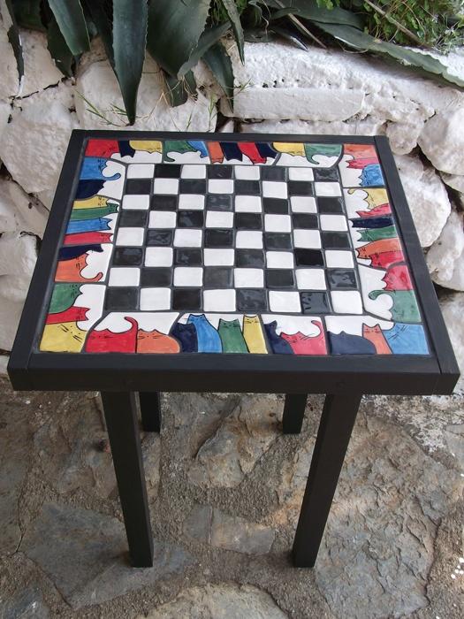 chess table    by mine söğüt