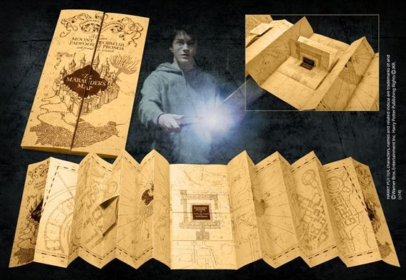 Marauders Map at noblecollection.com