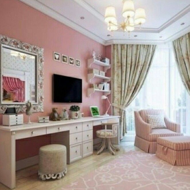 Kitchen Set For Girls Cabinet Resurfacing Cute Office Idea Love This My Mary Kay :d ...