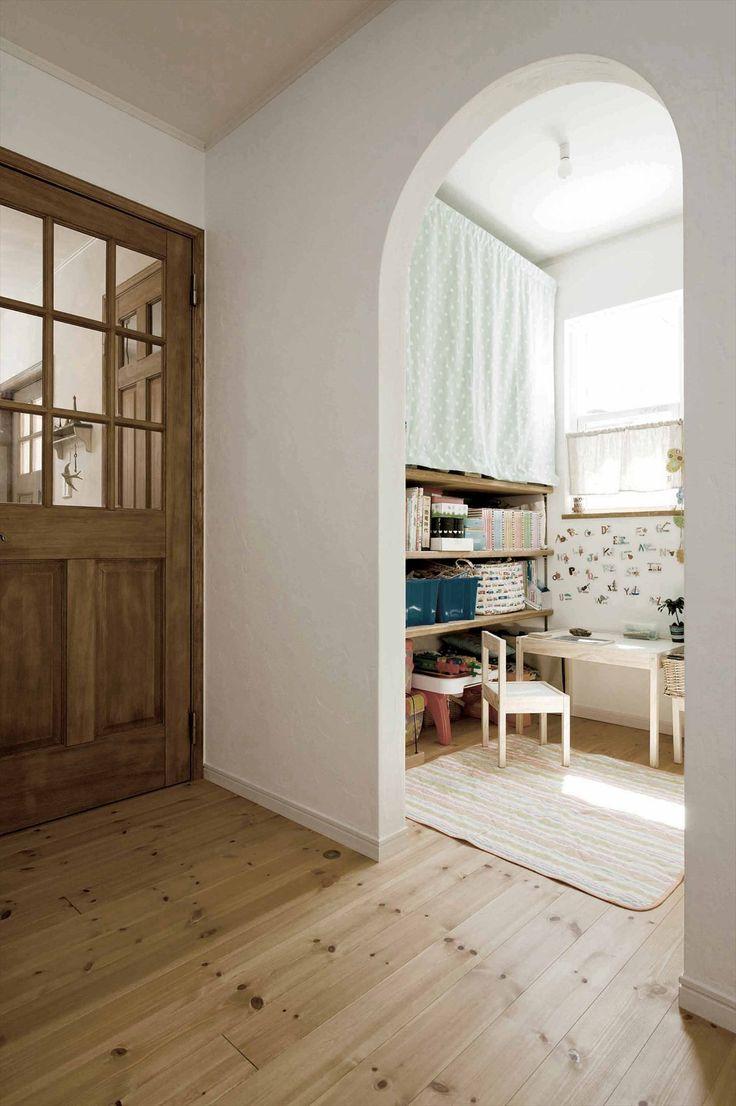 キッズスペース/北欧/ナチュラル/シンプル/インテリア/注文住宅/ジャストの家/kidsroom/wood/natural/simple/interior/house