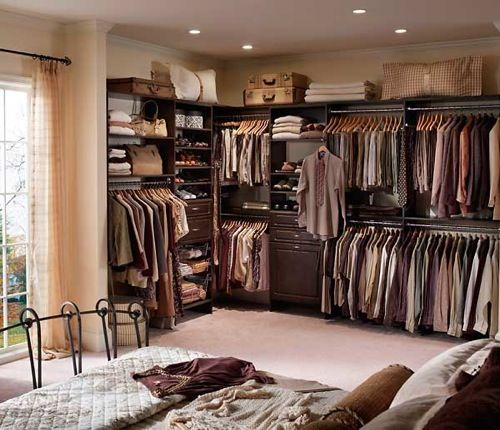Marvelous Gorgeous Closet Ideas For Small Bedrooms To Maximize Your Space: Gorgeous  Modern Closet Ideas For Small Bedrooms Design Brown Color In Large.