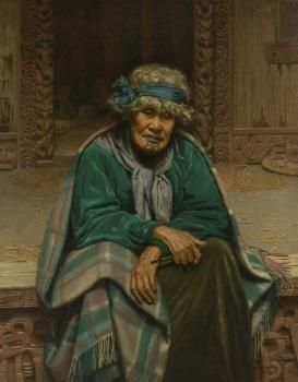 Charles Goldie (artist) Memories: Ena Te Papatahi, a Chieftainess of the Ngapuhi Tribe (1906)