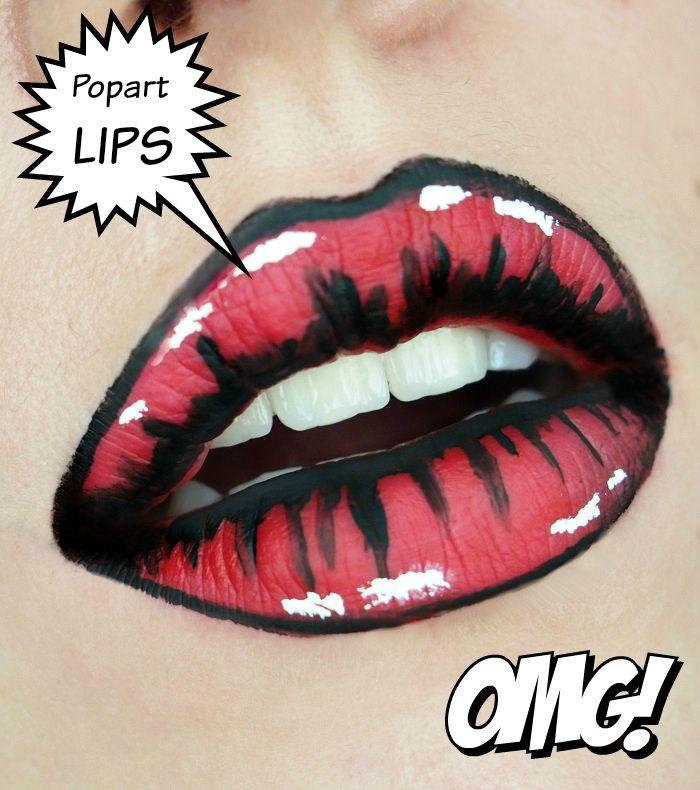 Popart Lips