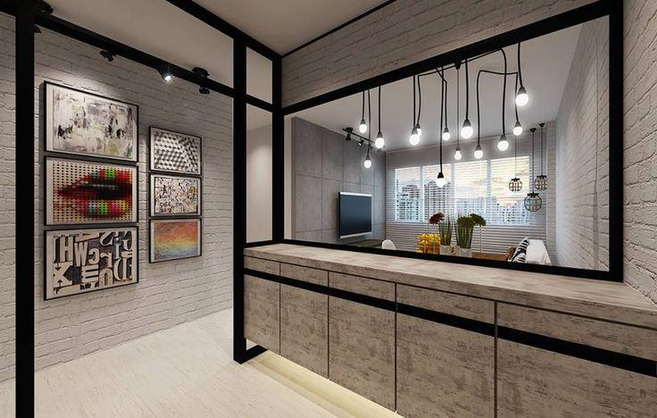 Hdb 4 Room Bto Modern Industrial Blk 432c Yishun